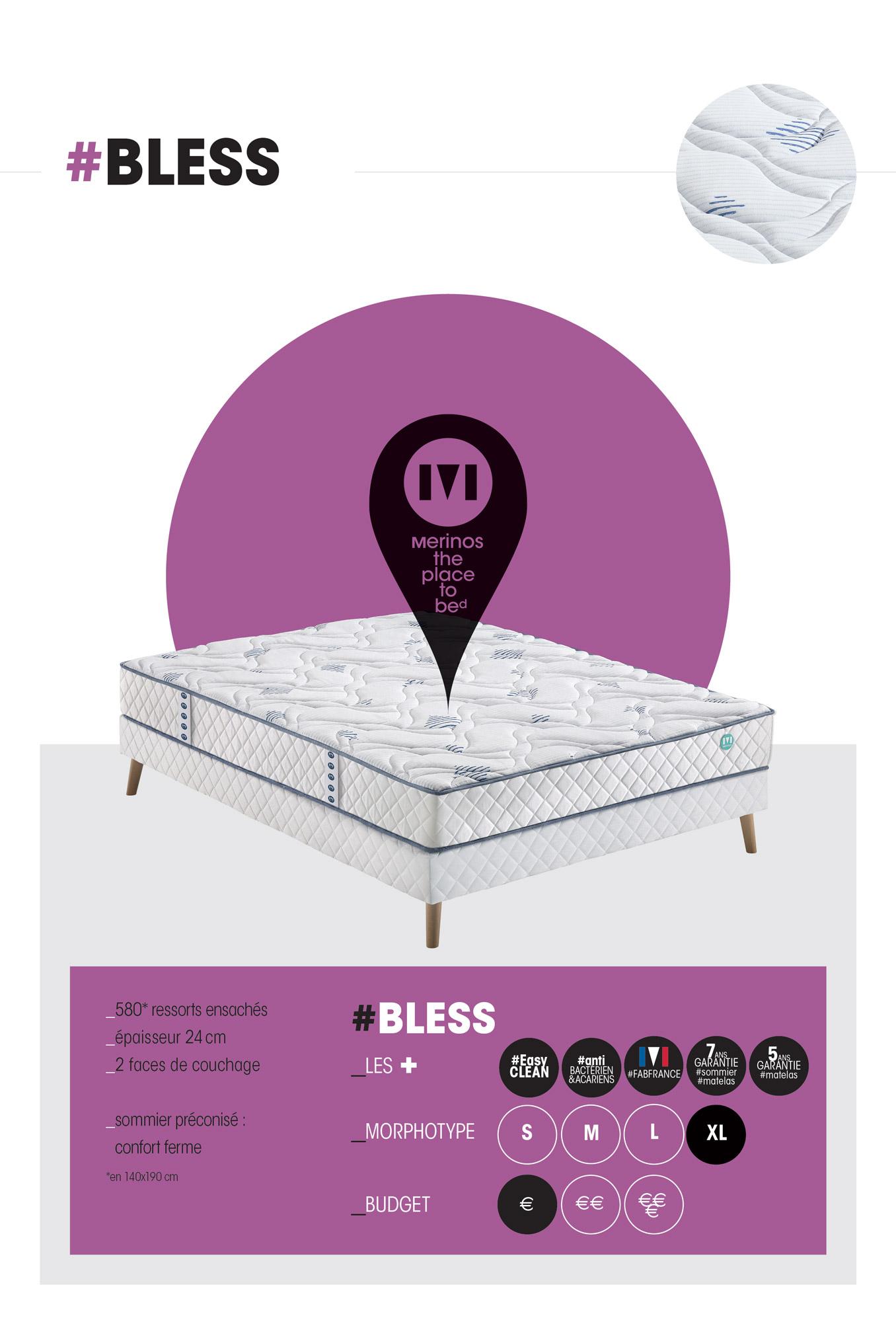 sommier merinos 140x190 teck home mobilier appartenant sommier a latte x with sommier merinos. Black Bedroom Furniture Sets. Home Design Ideas